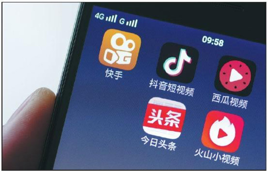VIDEOS AND NEWS APPS IN CHINA